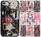 For Apple iPhone 8 & 8 PLUS HYBRID KICK STAND Rubber Case Phone Cover Accessory