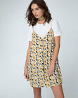 MOTEL Sanna Slip Dress in Delightful Daisy    (mr10)