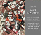LipSense by SeneGence Sample/Mini Sizes *Authentic & FREE Glossy Sample w/color