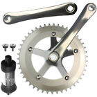 Alloy Fixie Single Speed Crankset With BB 48 Teeth 170mm
