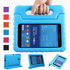 Kids Shockproof EVA Stand Case + Tempered Glass Film For Samsung Galaxy Tab A E