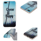 For iPhone Phones/8/8 Plus 10 X Cute Pattern Soft Silicone TPU Clear Case Cover