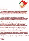 PERSONALISED LETTER FROM SANTA PLUS EXTRAS CHOICE OF LETTER HEADER AND WORDING