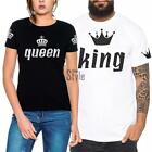 Lovers O Neck Short Sleeve Loose Imperial Print Couple Clothing T-Shirt TXST