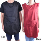 Salon Hairdressing Hair Cutting Apron Front-Back Cape for Barber Hairstylist FM