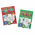 Giant Christmas Colouring & Sticker book ideal stocking filler