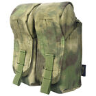 Flyye Tactical Dual AK Magazine Ammo Pouch MOLLE Webbing Airsoft A-TACS FG Camo $55.95 USD
