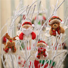 Christmas Tree Decorations Santa Claus Deer Xmas Pendants Hanging Ornament Gifts