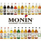 4 x Litre Litre Monin Coffee Syrup Plastic Bottles Multi Flavours £8.49 Each