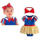 Baby Girl Princess Fairy Tale Snow White Halloween Fancy Dress Costume Outfit