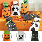 3pcs Halloween Party Props Bags Candy Bags Pumpkin Squeeze Toys Candy Filler UK