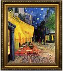 van Gogh The Cafe Night Terrace Place du Forumt Framed Canvas Print Repro 20x24