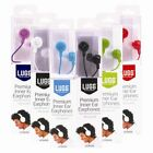 Luggs Premium Stereo Inner In Ear Earphones For iPod iPhone Mp3 Mp4 Player Music