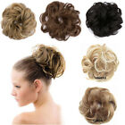 Drawstring Clip In Hair Messy Bun Piece Updo Cover Hair Extensions Chignon fo
