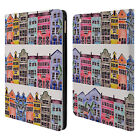 OFFICIAL CAT COQUILLETTE BUILDINGS LEATHER BOOK WALLET CASE COVER FOR APPLE iPAD