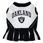 Oakland Raiders Dog Dress Cheerleader NFL Football Official Licensed Pet Product