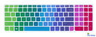 Laptop Keyboard Cover Protector Skin For HP Pavilion Notebook 15.6 Inch Computer