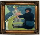 Cassatt The Boating Party Framed Canvas Print Repro 20x24