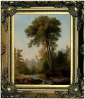 Durand A Natural Monarch 1853 Wood Framed Canvas Print Repro 8x10