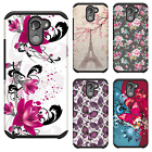 For Alcatel A30 Fierce HARD Astronoot Hybrid Rubber Silicone Case Phone Cover