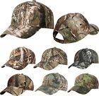 Mens Camo Baseball Cap Hat Structured Adjustable Mossy Oak Country Realtree Xtra