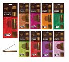 Incense 100 Joss Stick Wooden Holder Insence Various Scent Pur Arome Long Burn