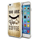 Cup Of Coffee Design Hard Back Case Cover Skin For Various Phones