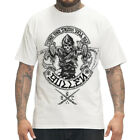 SULLEN TIME WILL TELL REAPER BIKER TATTOO ART MENS WHITE T SHIRT M-2XL NEW
