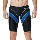 Fina Approved Boy Men Racing Competition Full Knee Swim Trunks Shorts Jammers