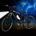 "26"" Bluetooth Folding Electric Mountain Bike Off-Road Bicycle Ebike 36V"