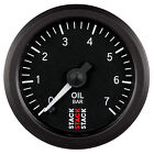 Stack Mechanical Oil Pressure Gauge
