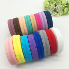 "5yds 5/8""(16mm) Bilateral Lace Grid Fold Over Elastic Spandex Lace Band U pick"