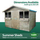Summer Shed Garden Summer House Quality Wooden Timber