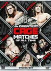 WWE: The Greatest Cage Matches of All Time (DVD, 2011, 3-Disc Set)