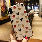 Cute mickey mouse Embossment pattern shockproof cover case For iPhone 8 8Plus X