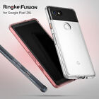 Google Pixel 2 XL Case Ringke [FUSION] Shockproof Protective Crystal Clear Cover