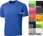 Mens Dry Fit T-Shirt Workout Moisture Wicking Tee S, M, L, XL, 2XL, 3XL, 4XL NEW image