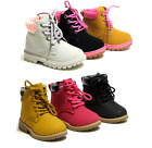 Внешний вид - New Baby Toddler Girls Lace Up Ankle Boots Casual Shoes 3 Colors Size 4-11