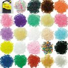 24+COLOUR+2mm+Glass+Seed+Beads+15g+Small+Round+Jewellery+BUY+1+2+Clear+Packs