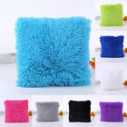 Throw Home Decoration Fur Fluffy Sofa Pillow Soft Plush Luxury Cushion Cover
