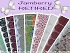JAMBERRY - RETIRED- Going Gone A - F - Nail Wraps Fast Shipping - PICK YOUR WRAP