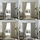 Curtina Ashford Paisley Pencil Pleat Lined Curtains