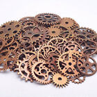 100g/Pack Parts Steampunk Jewellery Craft Cogs Gears DIY Charms Handmade Decor