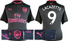 17 / 18 - PUMA ; ARSENAL 3RD KIT SHIRT SS / LACAZETTE 9 = KIDS