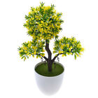 Artificial Flower Potted Bonsai Fake Flower Plants Pine Trees Home Indoor Decor