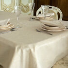 LUXURY CHRISTMAS TABLECLOTH - ANTI STAIN TREATMENT - REF. GOLDEN LINES
