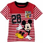 Disney Baby Toddler Boys t shirt Tee Short Sleeve Mickey Mouse Clothes 12M 24M