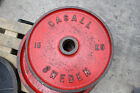 Casall Cast Iron Olympic Weight Plates - Commercial Gym Equipment