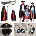 Halloween Cosplay Party Adult Child Accessories Costume Props Cape Cloak 1Set