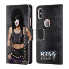 OFFICIAL KISS 80'S SOLO LEATHER BOOK WALLET CASE COVER FOR APPLE iPHONE PHONES